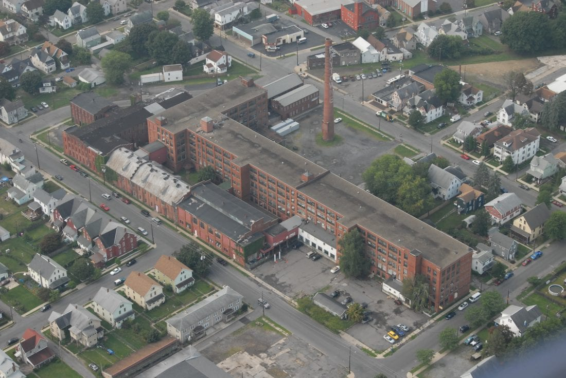 Ariel view of Factory