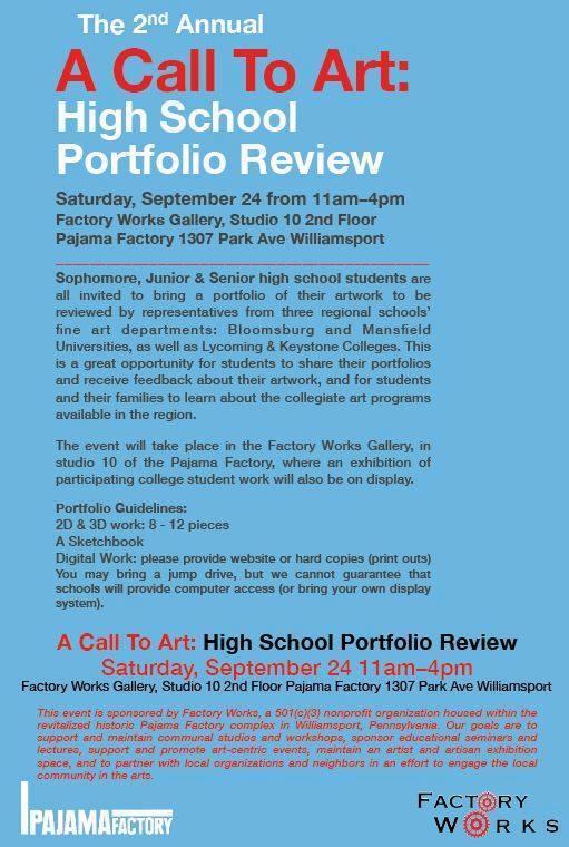 A Call to Art: Portfolio Review
