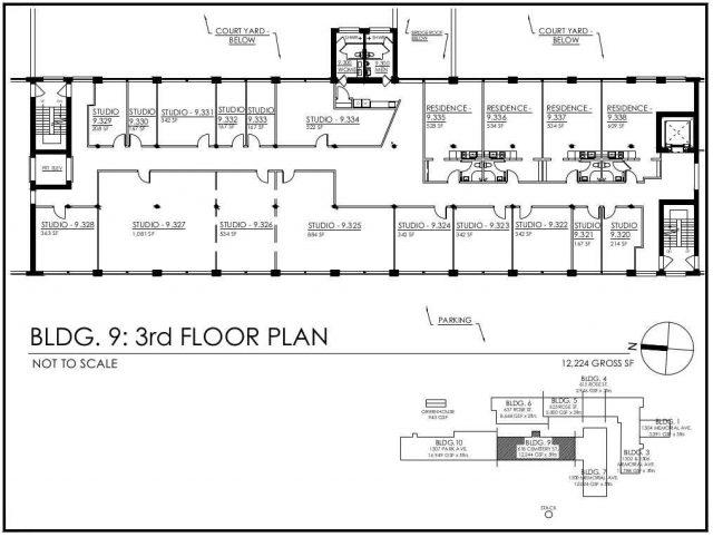 3rd Floor groundplan