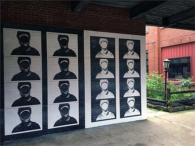 Courtyard mural by JesseDraxler